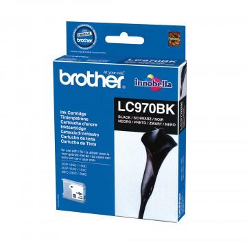 Brother LC-970BK оригинальный струйный картридж - черный, 350 стр