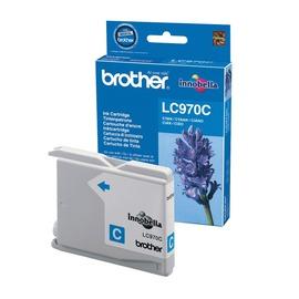 LC970C оригинальный струйный картридж Brother голубой, ресурс печати - 300 страниц