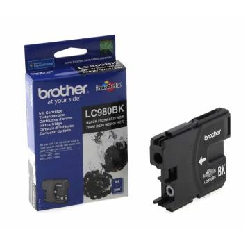 LC980B струйный картридж Brother чёрный