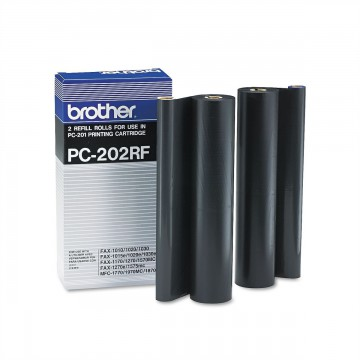 PC 202RF Оригинальная плёнка для факса Brother чёрная, ресурс печати - 2*420 страниц