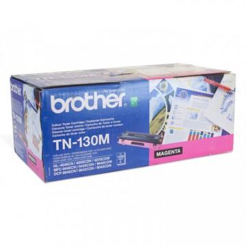 TN 130M оригинальный тонер картридж Brother пурпурный, ресурс печати - 1500 страниц