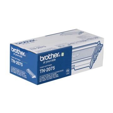 TN 2075 оригинальный тонер картридж Brother чёрный, ресурс печати - 2500 страниц
