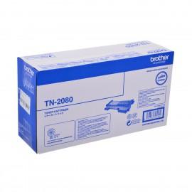 TN 2080 оригинальный тонер картридж Brother чёрный, ресурс печати - 700 страниц