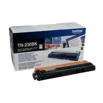 TN 230Bk оригинальный тонер картридж Brother чёрный, ресурс печати - 2200 страниц
