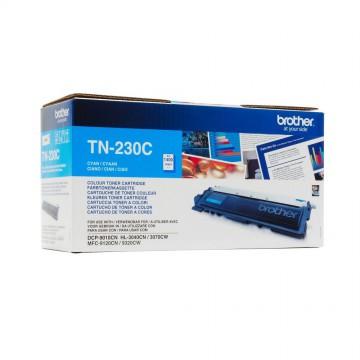 Brother TN-230C оригинальный тонер картридж - голубой, 1400 стр