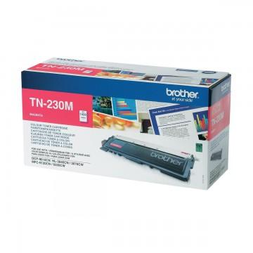 TN 230M оригинальный тонер картридж Brother пурпурный, ресурс печати - 1400 страниц