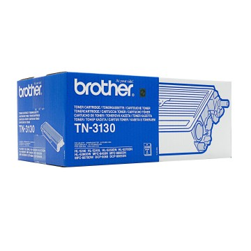 TN 3130 оригинальный тонер картридж Brother чёрный, ресурс печати - 3500 страниц