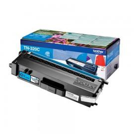 TN-320C Toner Cyan тонер картридж Brother, 1500 стр., голубой