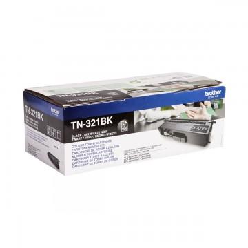 Brother TN-321Bk оригинальный тонер картридж - черный, 2500 стр