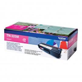 TN 325M оригинальный тонер картридж Brother пурпурный, ресурс печати - 3500 страниц
