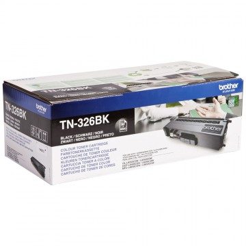 Brother TN-326Bk оригинальный тонер картридж - черный, 4000 стр