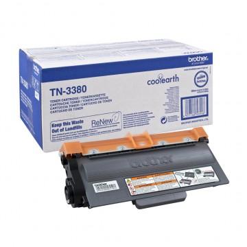 TN 3380 оригинальный тонер картридж Brother чёрный, ресурс печати - 8000 страниц