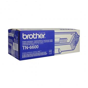 TN 6600 оригинальный тонер картридж Brother чёрный, ресурс печати - 6000 страниц