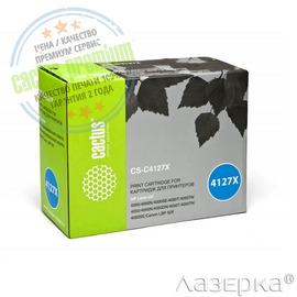 Cactus CS-C4127X premium лазерный картридж аналог HP C4127X чёрный