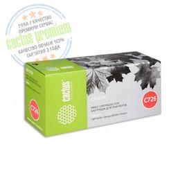 Premium CS-C726S лазерный картридж Cactus 726 | 3483B002, 2100 стр., черный