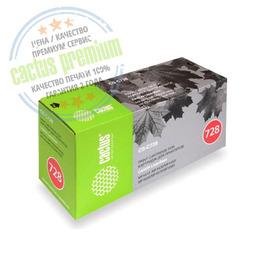 Premium CS-C728S лазерный картридж Cactus 728 | 3500B010, 2100 стр., черный