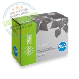 55A Black | CE255A (Cactus PR) лазерный картридж - 6000 стр, черный