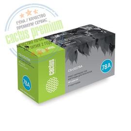 Cactus CS-CE278AS premium лазерный картридж аналог HP CE278A чёрный