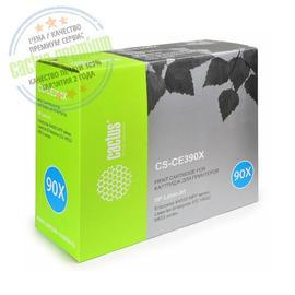 Premium CS-CE390XS лазерный картридж Cactus 90X Black | CE390X, 24000 стр., черный