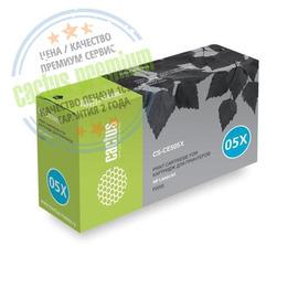 Cactus CS-CE505XS Premium совместимый картридж аналог HP CE505X чёрный, ресурс - 6500 страниц