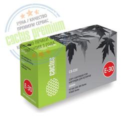 Cactus CS-E30 Premium совместимый картридж аналог Canon E30 чёрный, ресурс - 4000 страниц