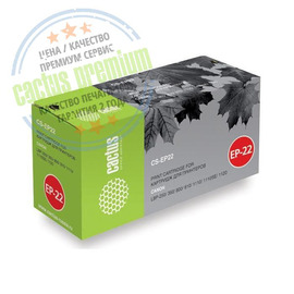 Premium CS-EP22S лазерный картридж Cactus EP-22 | 1550A003, 2500 стр., черный