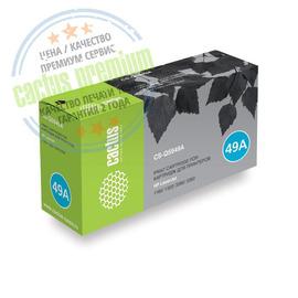 Premium CS-Q5949AS лазерный картридж Cactus 49A Black | Q5949A, 2500 стр., черный