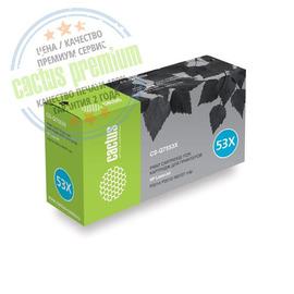 53X Black | Q7553X (Cactus PR) лазерный картридж - 7000 стр, черный