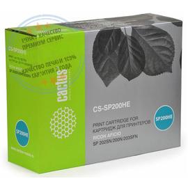 Premium CS-SP200HE лазерный картридж Cactus SP 200HE Black | 407262, 2600 стр., черный