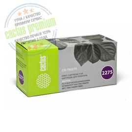 Premium CS-TN2275S тонер картридж Cactus TN-2275 Toner, 2600 стр., черный