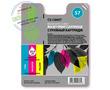 Cactus Premium CS-C6657 №57 совместимый струйный картридж аналог HP C6657AE цветной (3-х цветный) ресурс 18 мл.
