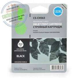 Cactus Premium CS-CH563 №122XL совместимый струйный картридж аналог HP CH563HE черный ресурс 18 мл.