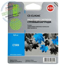 Premium CS-CLI426C струйный картридж Cactus CLI-426C | 4557B001, 8.2 мл, голубой