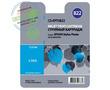 Cactus Premium CS-EPT0822 совместимый струйный картридж аналог Epson C13T11124A10 голубой ресурс 11.4 мл.