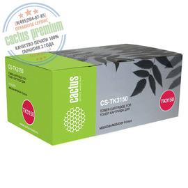 Cactus Premium CS-TK3150 совместимый тонер картридж аналог Kyocera TK-3150 черный ресурс 14500 страниц