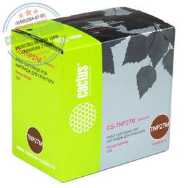 Premium CS-TNP27M тонер картридж Cactus TNP-27M Toner | A0X5353, 6000 стр., пурпурный