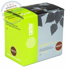 Premium CS-TNP27Y тонер картридж Cactus TNP-27Y Toner | A0X5253, 6000 стр., желтый