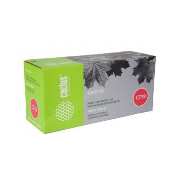 Cactus CS-C719 совместимый лазерный картридж 719 | 3479B002 - черный, 2100 стр