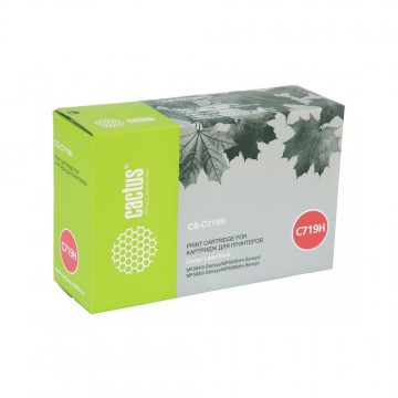 Cactus CS-C719H совместимый лазерный картридж 719H | 3480B002 - черный, 6400 стр