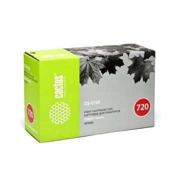 Cactus CS-C720 совместимый картридж аналог Canon 720 чёрный, ресурс - 5000 страниц