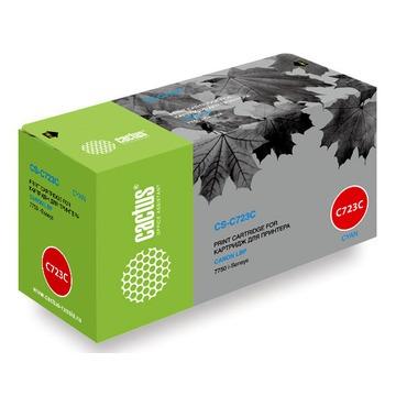 Cactus CS-C723C совместимый лазерный картридж 723C | 2643B002 - голубой, 8500 стр