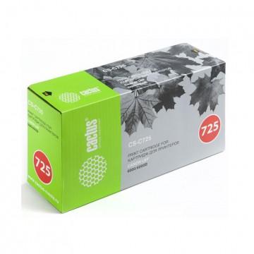 Cactus CS-C725S совместимый лазерный картридж 725 | 3484B005 - черный, 1600 стр