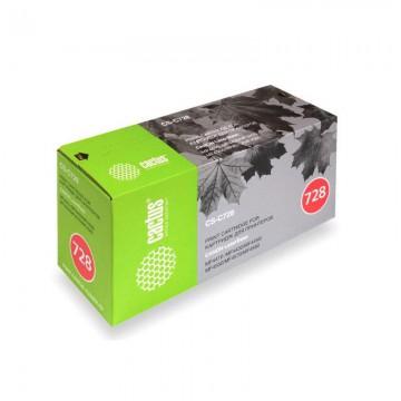 Cactus CS-C728S совместимый лазерный картридж 728 | 3500B010 - черный, 2100 стр