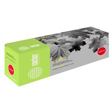 Cactus CS-C731Y совместимый лазерный картридж 731Y | 6269B002 - желтый , 1800 стр