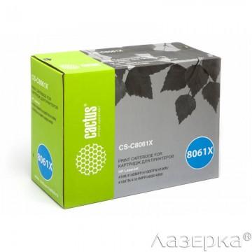 Cactus CS-C8061XR совместимый лазерный картридж 61X Black | C8061X - черный, 10000 стр