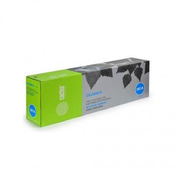 Cactus CS-CB381AV совместимый лазерный картридж 824A Cyan | CB381A - голубой, 21000 стр