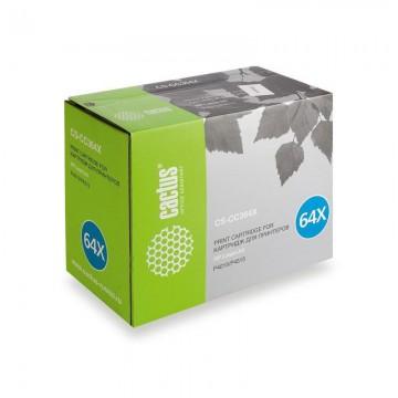 Cactus CS-CC364XS совместимый лазерный картридж 64X Black | CC364X - черный, 24000 стр