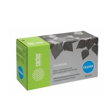Cactus CS-CE250X совместимый картридж аналог HP CE250X чёрный, ресурс - 10500 страниц