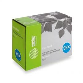 CS-CE255XS лазерный картридж Cactus 55X Black | CE255X, 12500 стр., черный