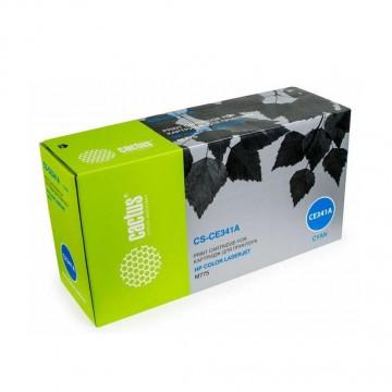 Cactus CS-CE341AV совместимый лазерный картридж 651A Cyan | CE341A - голубой, 16000 стр